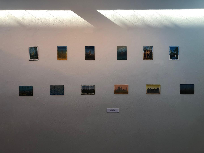 Paintings by Xia Zhizhou (advised by David Hubbard)