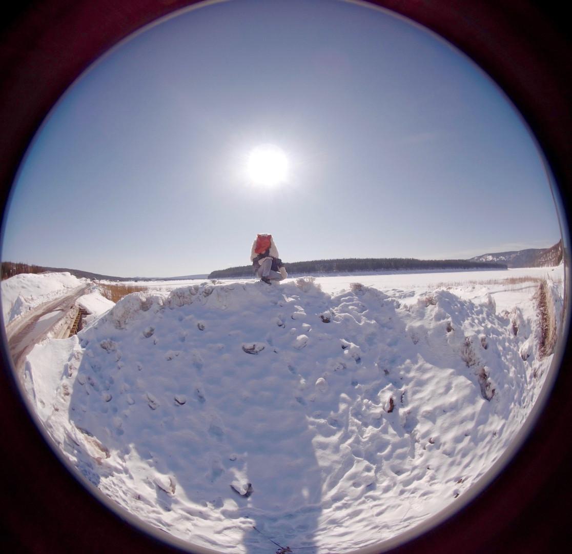 Little Wolf on the Stony Tunguska River (still from 360 film Granny's Bones)