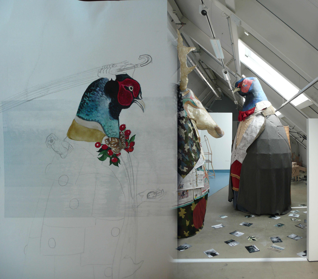 From drawing to installation