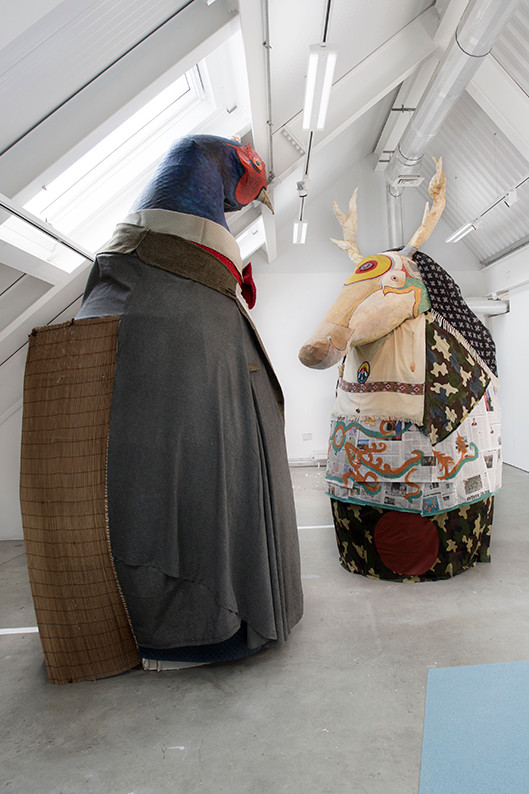 Degree Show exhibit Granny's Bones installation