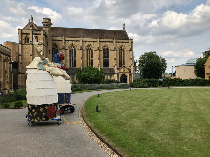 Granny's Bones - Parade to Mansfield College, Oxford