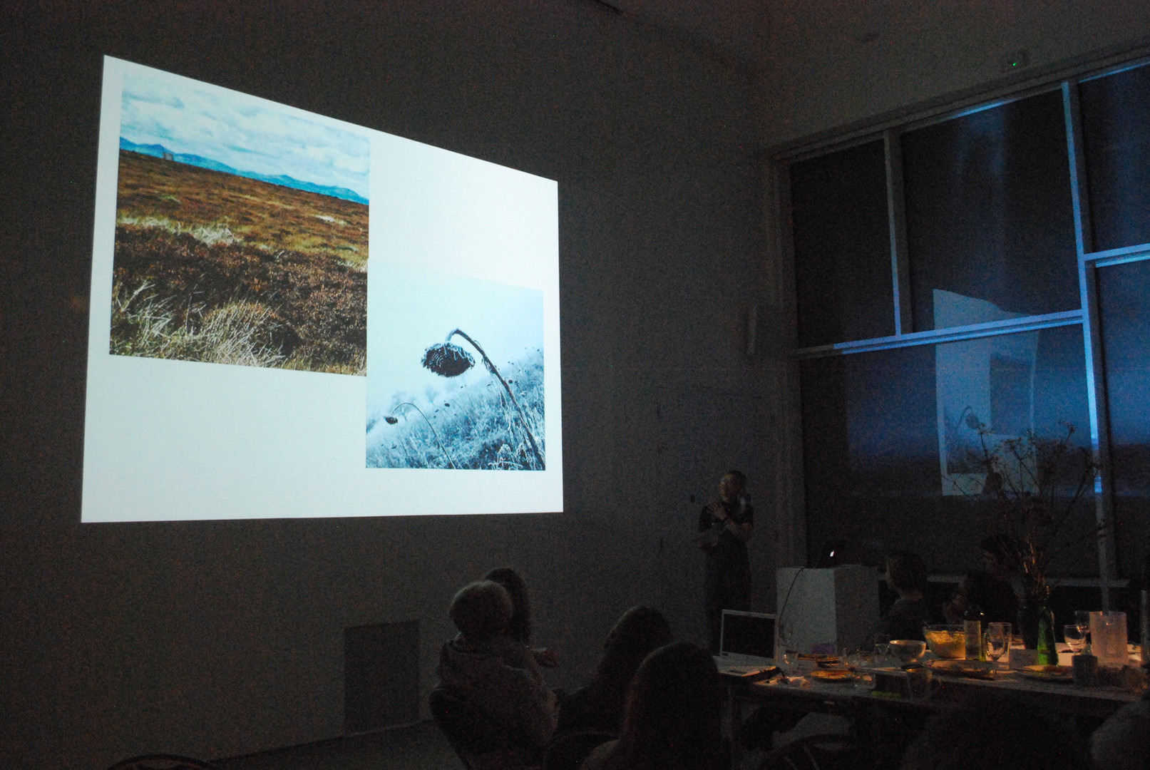 A presentation on language, landscape and the loss of meaning