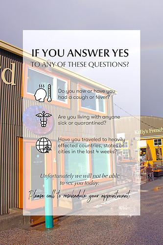 If you answer yes...