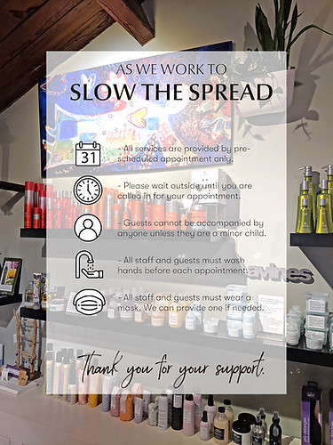 Slowing the spread