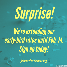 Early-bird registration extended to Feb. 14