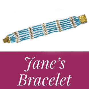 Get your very own replica of Jane Austen's bracelet!
