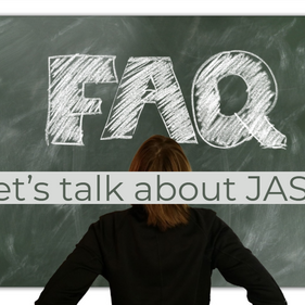 FAQ: What to expect at JASP