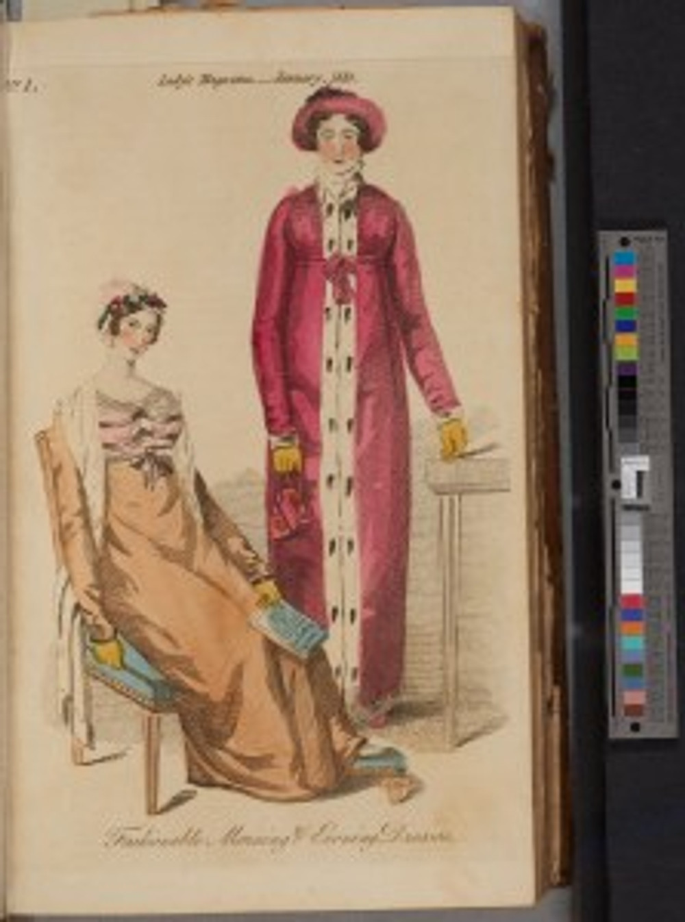 The Lady's Magazine, or, Entertaining Companion for the Fair Sex, volume 44 (London: G. Robinson, 1813). Image appears courtesy of the Rare Book Collection, Wilson Library, University of North Carolina-Chapel Hill.
