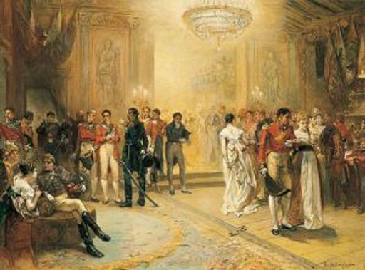 The_Duchess_of_Richmond's_Ball_by_Robert_Alexander_Hillingford