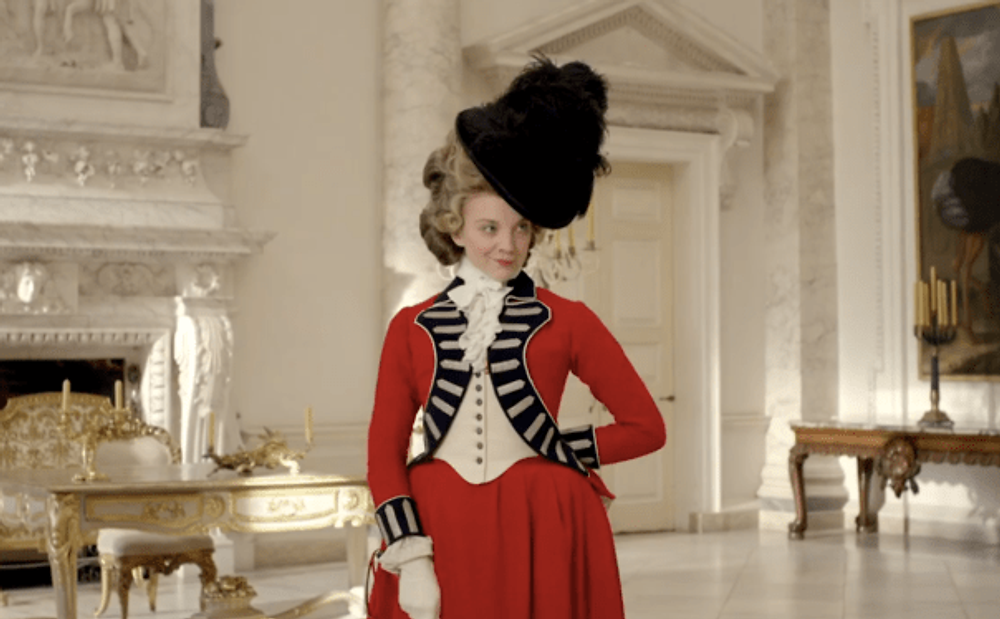 "Natalie Dormer plays ""The Scandalous Lady W."""