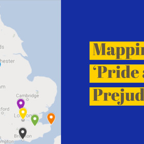 Mapping 'Pride and Prejudice'