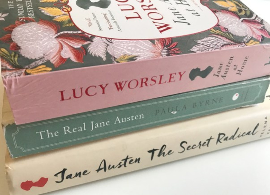 A stack of other Jane Austen biographies