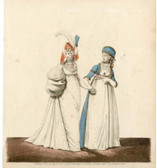 fashion plate 1796, courtesy of the met