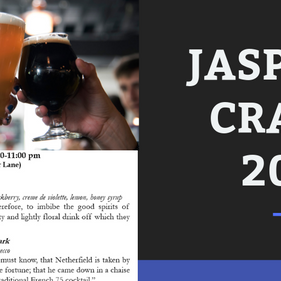 We've got a preview of the JASP pub crawl, plus updates and a handy packing list