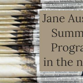 Jane Austen Summer Program featured on UNC College of Arts & Sciences site