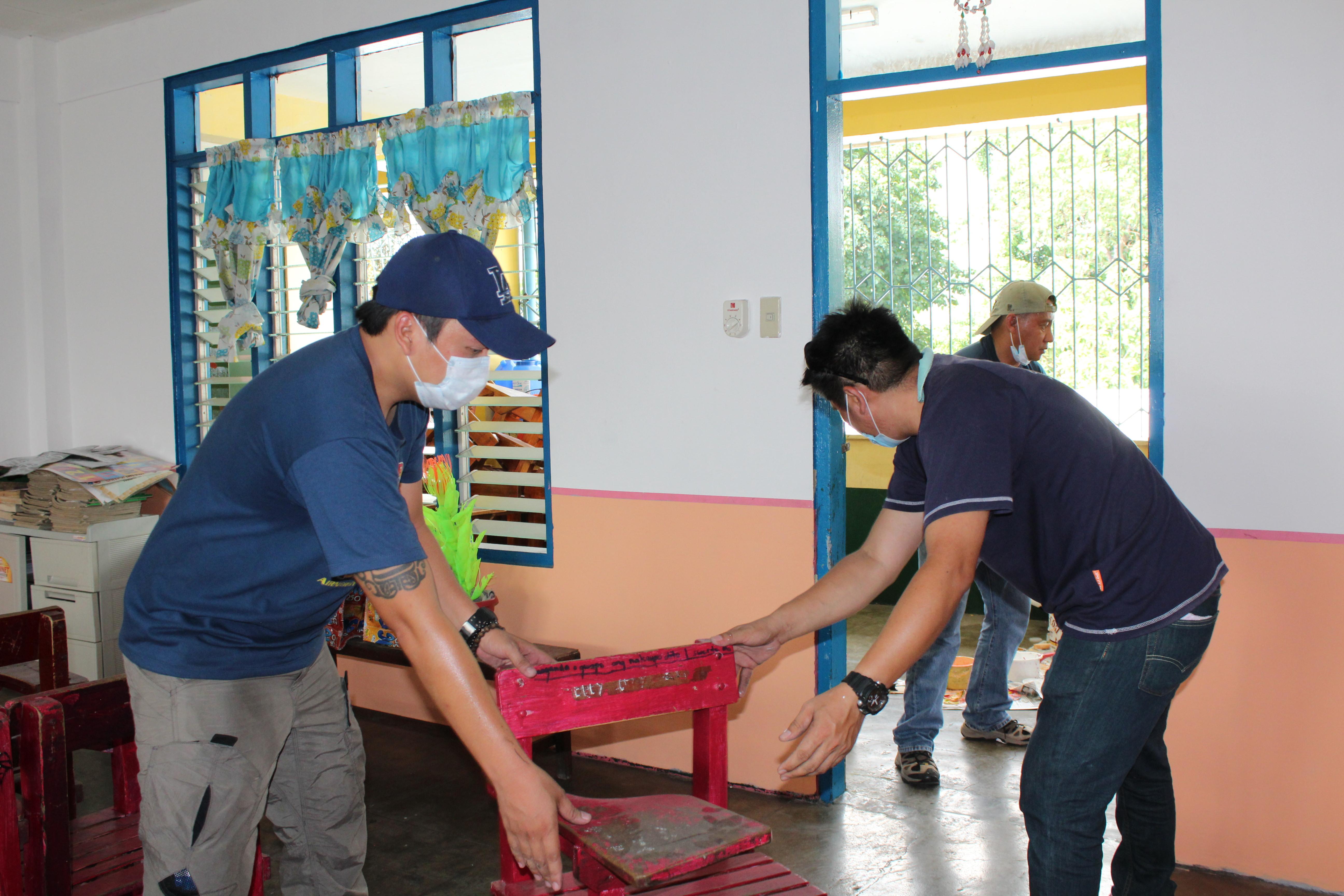 Brigada Eskwela In Balara Elementary