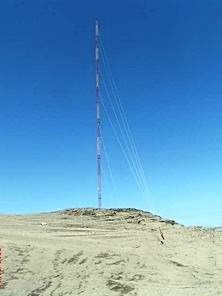 60M Tower Metmast Installation, Pre-