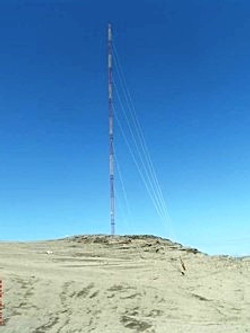 60M Tower Metmast Installation, Pre-