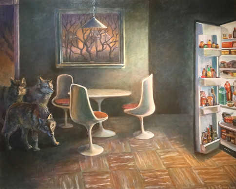 Wolves in Kitchen