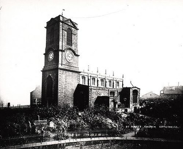 St Mary's Church, an early picture