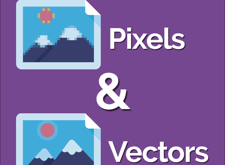 Pixels vs Vectors - What's the difference?