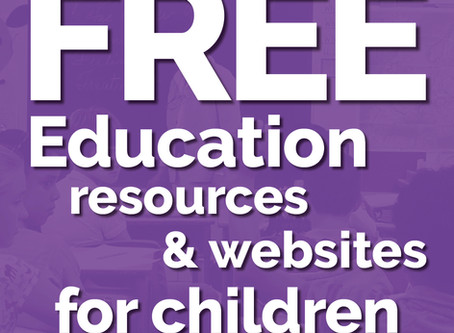 FREE Education resources & websites for children