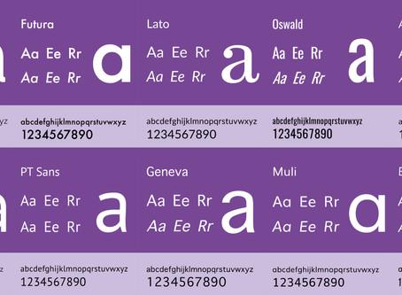 Top 10 popular Sans-Serif fonts