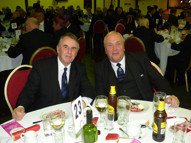 Bill Baty and Joe Smith, Promotions Meeting Nov 2016