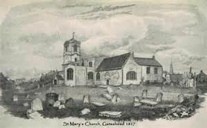 St Mary's Church, circa 1827