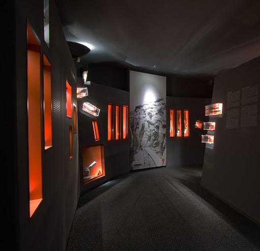 Sprehod po muzejski interpretaciji jarka iz prve svetovne vojne  v Museo della Bataglia