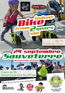 Affiche Bike From 2 years old de Sauveterre