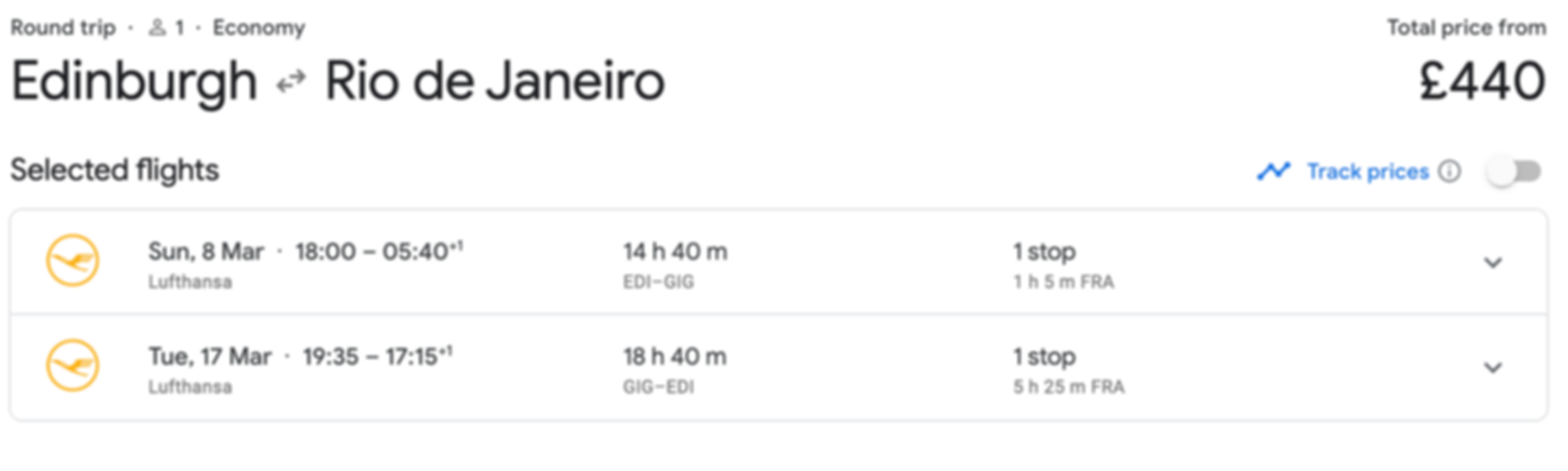 Rio De Janeiro from Birmingham, Manchester or Edinburgh for £439 RTN