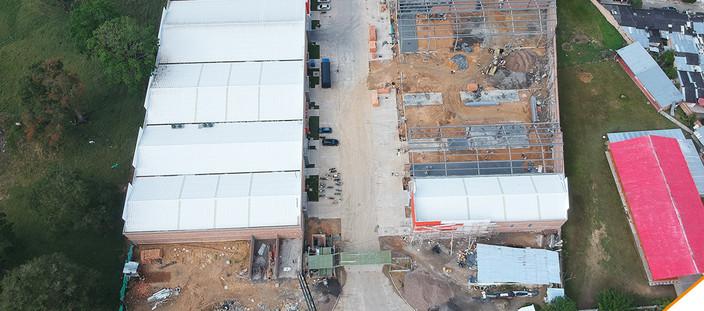 2 avance obra Florida fachada centro log