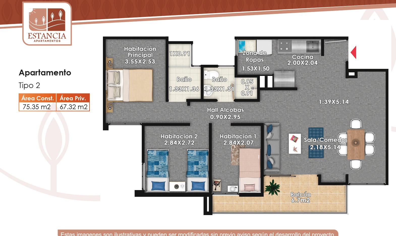 Apartamento Tipo 2