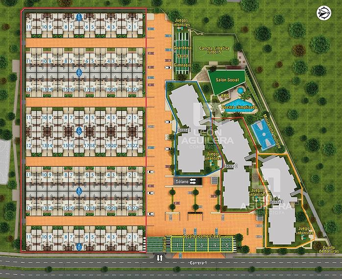 Implantación Campo Real Club House