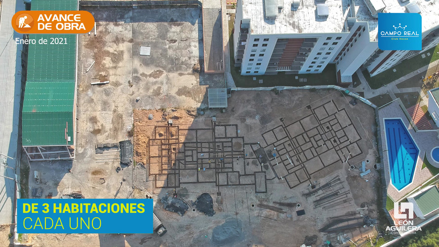 Torre 2 | Avance de obra | campo real club house