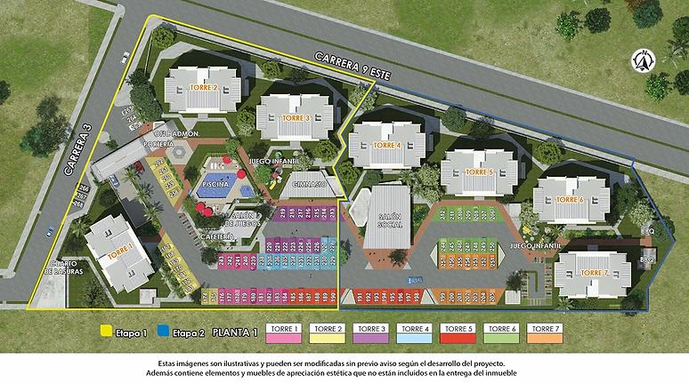 Urbanismo Estancia Apartamentos