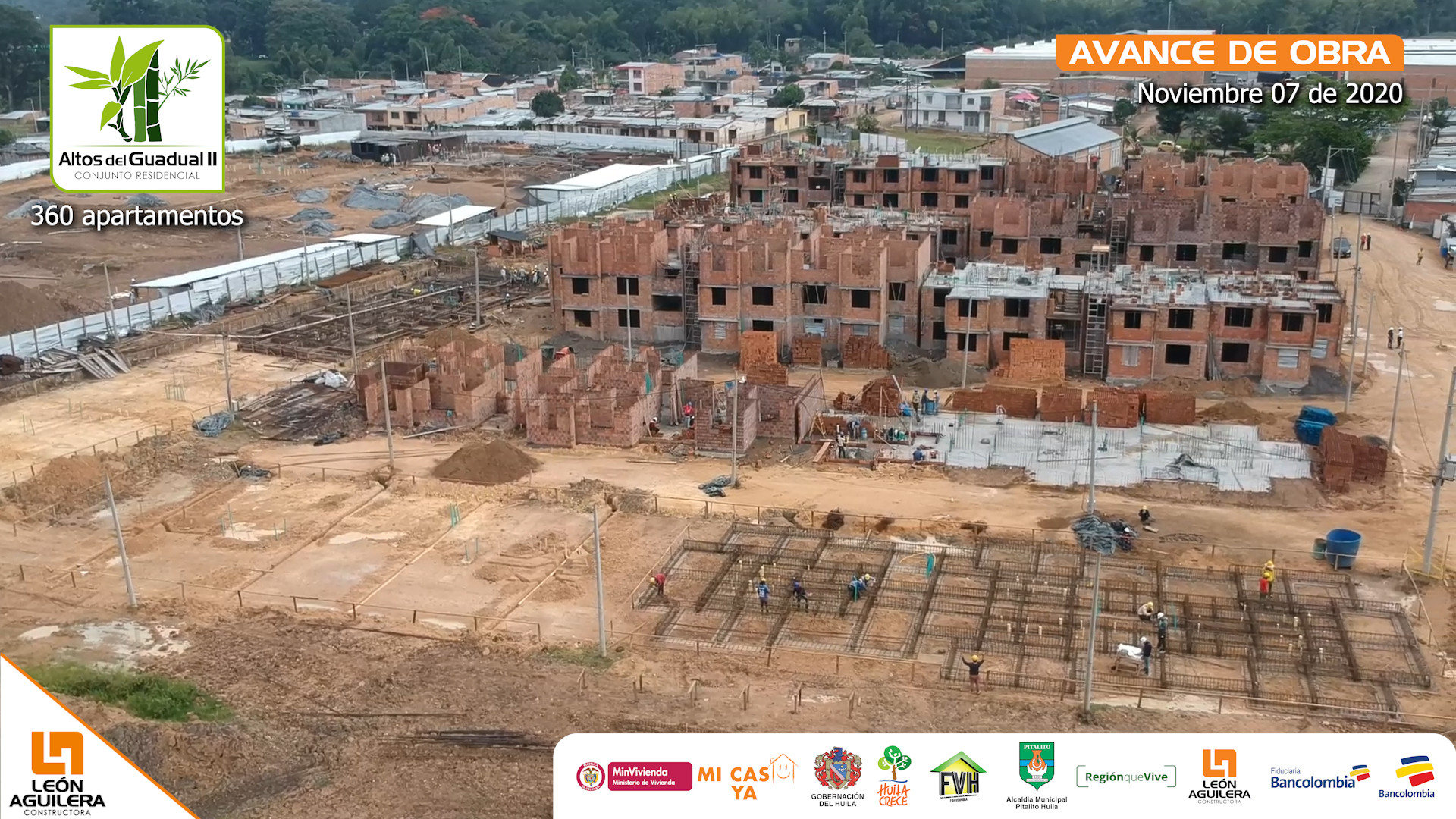 Altos del Guadual 2 - avance de obra