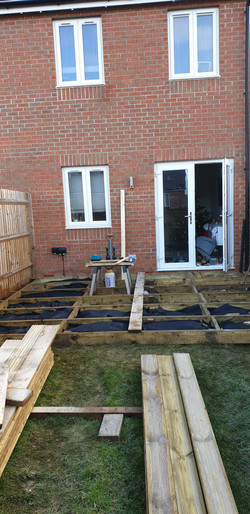 Decking project 1