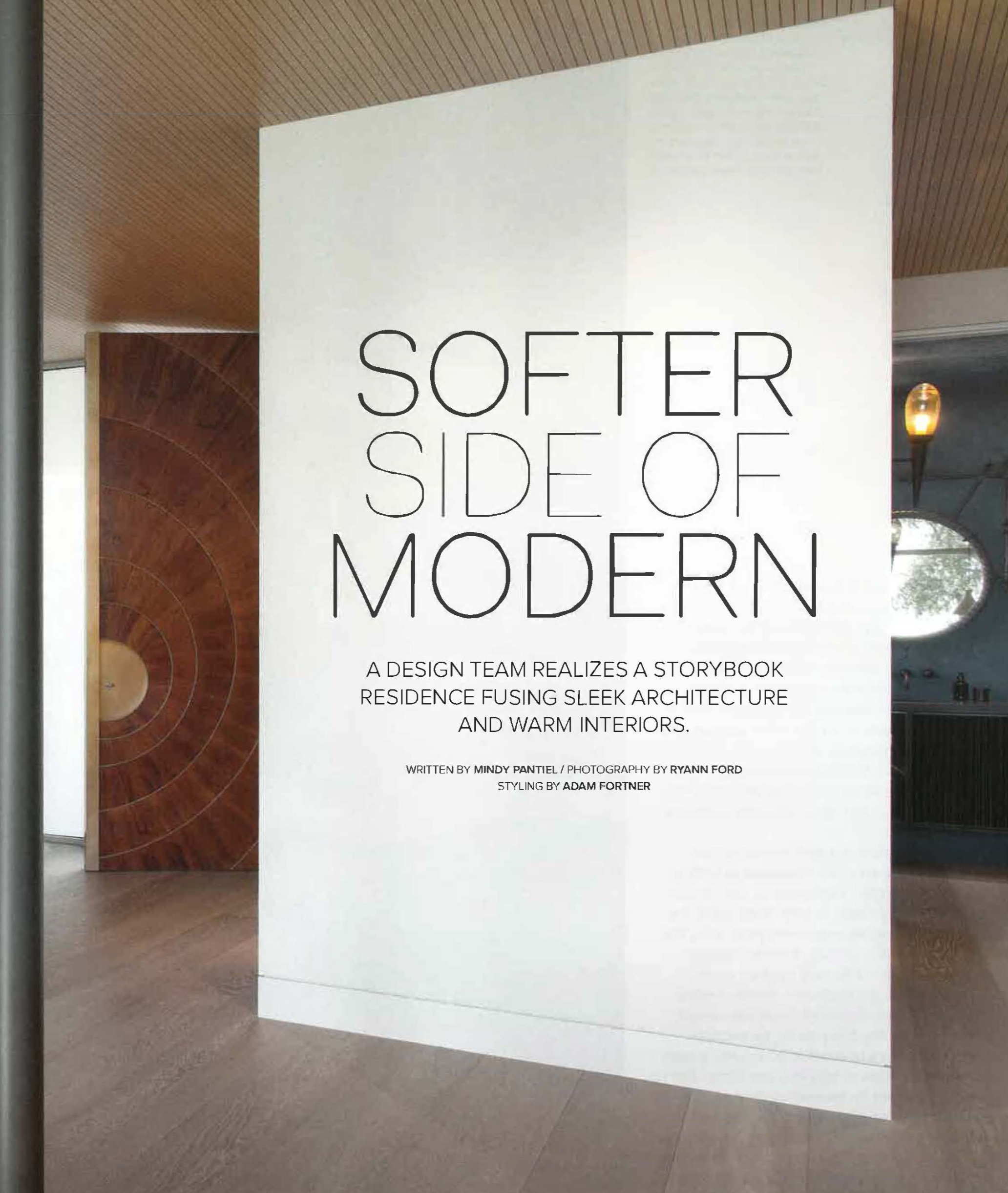 Softer Side of Modern
