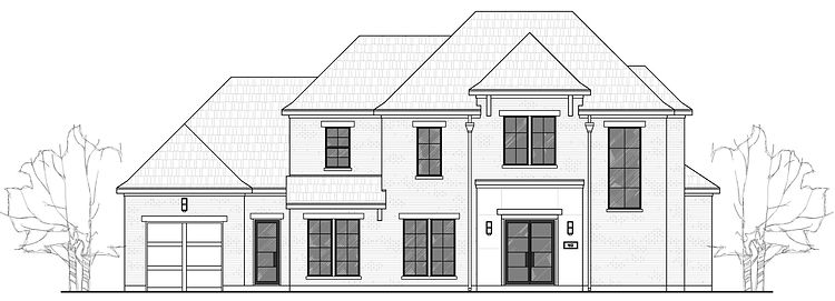 209 Metairie Dr., Southlake front elevation