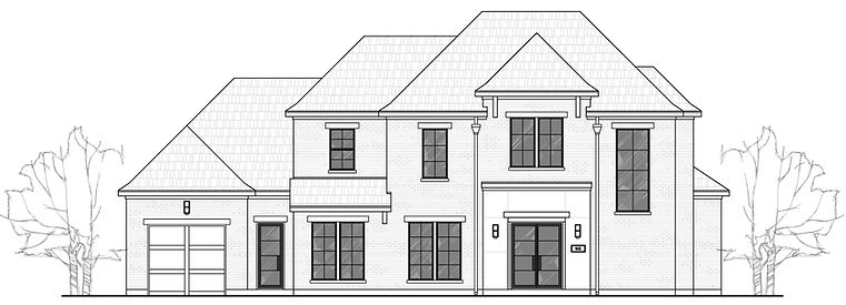 209 Metairie Dr, Southlake front elevation