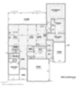 724 Winding Ridge, Southlake 1st Floor Plan