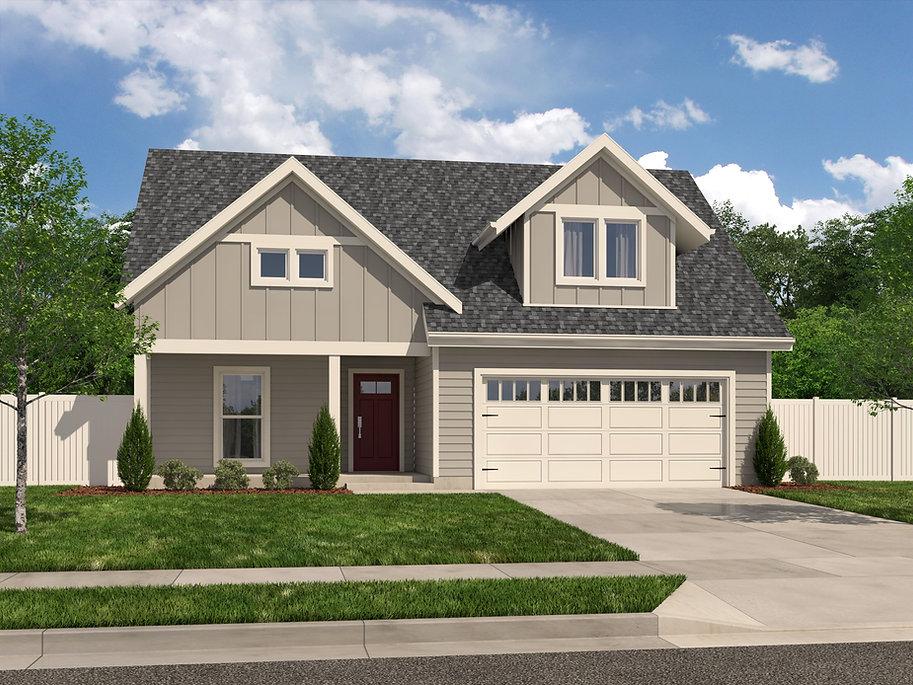 Shady Brook Yancy plan / Maykus Homes