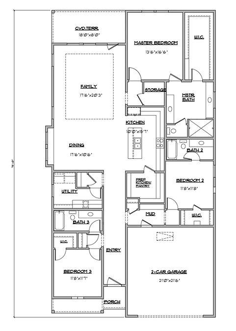 Shady Brook Starr Plan Floor Plan