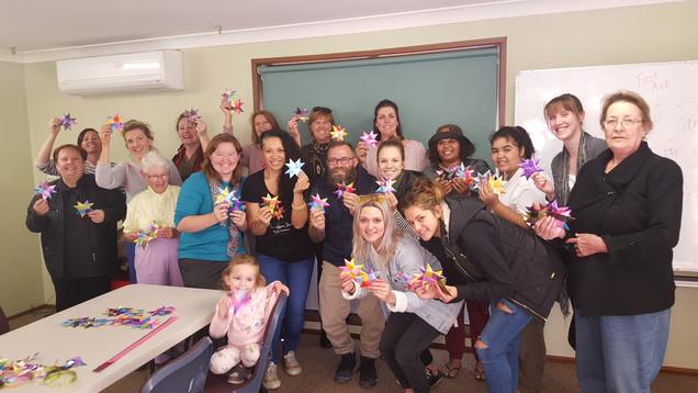 Star weavers in Wagga Wagga NSW
