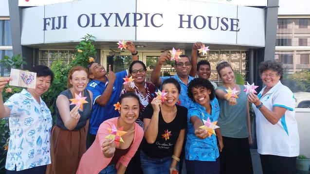 Fiji star weavers