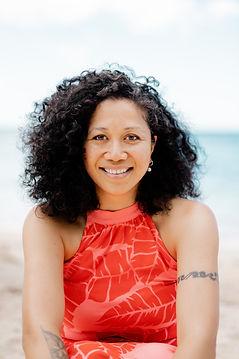 Maryann Talia Pau. One Million Stars project founder. Pasifika weaving artist.