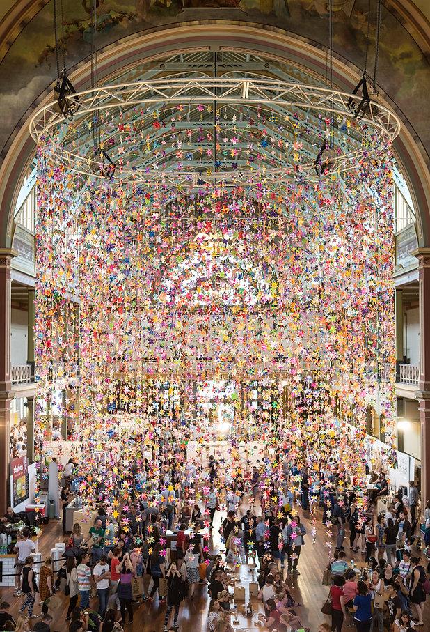 One Million Stars installation 2012. Photo:Nik Harrison