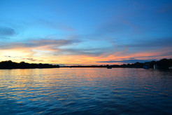 The Zambezi at Dusk